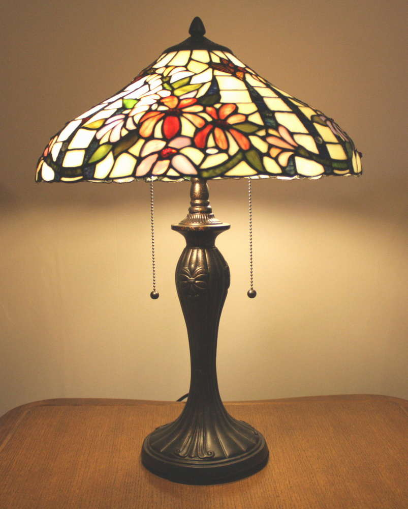 Medium to large tiffany style table lamp zhimei ltd tiffany medium to large tiffany style table lamp aloadofball Image collections