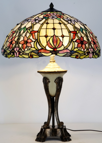 Extra Large Majestic Tiffany Table Lamp