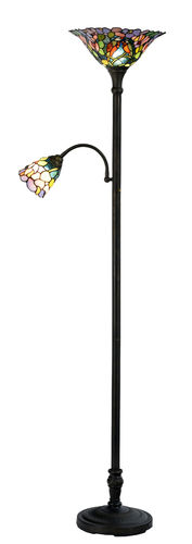 Tiffany Mother and Child Floor Lamp