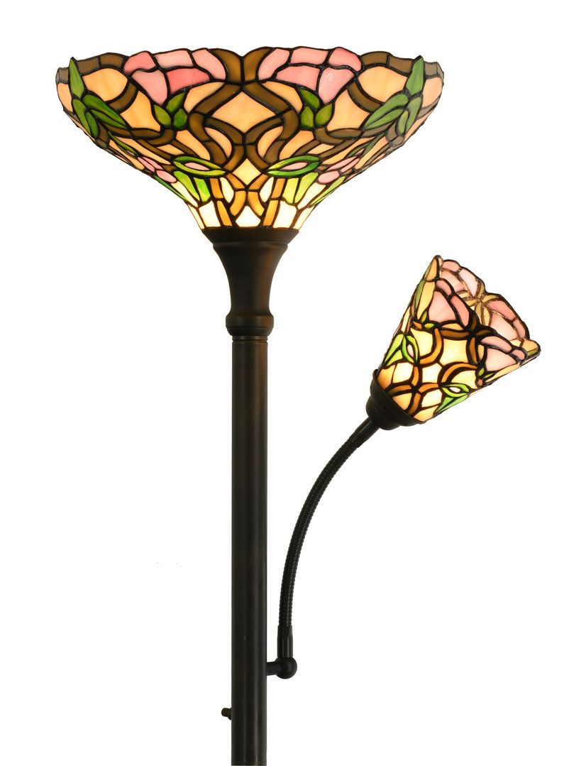 Tiffany Mother And Child Floor Lamp Zhimei Ltd Tiffany Lighting Specialists