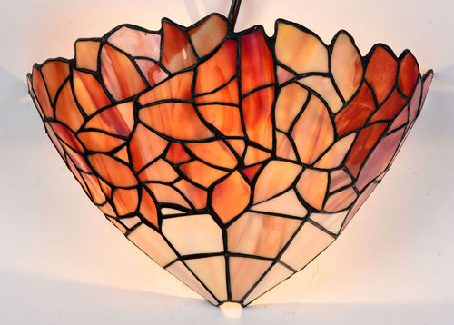 Tiffany Uplighter Wall Light