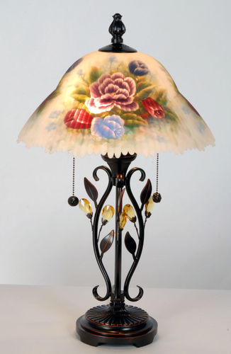 Medium Hand Painted Table Lamp