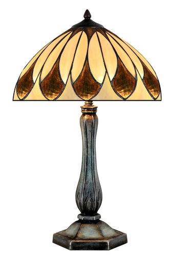 Medium to Large Tiffany Style Table Lamp