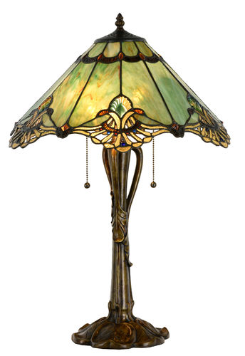 Large Tiffany Style Table Lamp